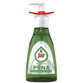 Jar Active Foam Okamžitá pěna čisticí prostředek na ruční mytí nádobí pumpička 350 ml