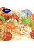 Nekupto Papírové ubrousky 3 vrstvé 33 x 33 cm 20 kusů Velikonoční Barevná vajíčka