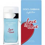 Dolce & Gabbana Light Blue Love is Love toaletní voda pro ženy 100 ml