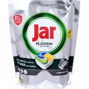 Jar Platinum All in One Lemon kapsle do myčky nádobí 42 kusů