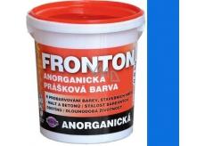Fronton Anorganická prášková barva Modrá pro venkovní a vnitřní použití 800 g