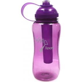 Rexona Sportovní plastová láhev s chladící vložkou fialová 500 ml