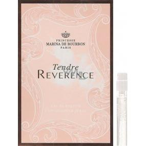 Marina De Bourbon Tendre Reverence parfémovaná voda pro ženy 1,5 ml s rozprašovačem, Vialka