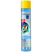 Cif Professional Multi Surface proti prachu čisticí a lešticí přípravek sprej 400 ml