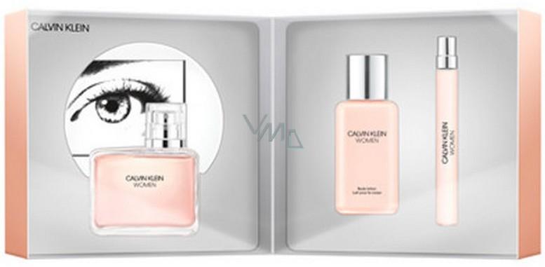 1ac0bae21e Calvin Klein Women parfémovaná voda pro ženy 100 ml + parfémovaná voda 10 ml  + tělové