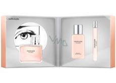 Calvin Klein Women parfémovaná voda pro ženy 100 ml + parfémovaná voda 10 ml + tělové mléko 100 ml, dárková sada