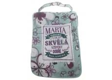 Albi Skládací taška na zip do kabelky se jménem Marta 42 x 41 x 11 cm