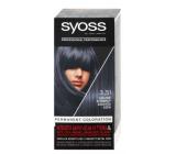 Syoss Professional barva na vlasy 3-51 Uhlově stříbrný