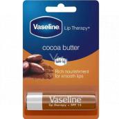 Vaseline Lip Therapy Kakaové máslo pomáda na rty 4 g