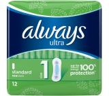 Always Ultra Standart intimní vložky 12 ks
