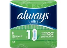 Always Ultra Standart intimní vložky 12 kusů