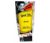 Got2b Glued voděodolný gel - lepidlo Tvrďák vlasový gel beton 6 150 ml