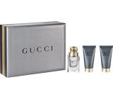 Gucci Made to Measure toaletní voda 50 ml + balzám po holení 50 ml + sprchový gel 50 ml, dárková sada