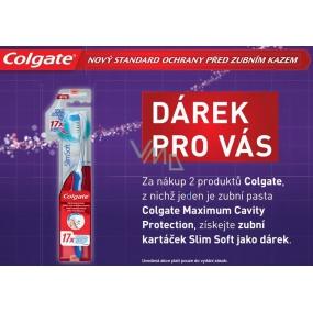 DÁREK Colgate Slim Soft kartáček na zuby 1 kus