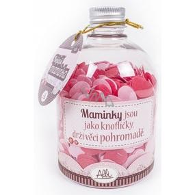 Albi Relax Konfety do koupele s vůní Růže Nejlepší maminka