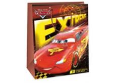 Ditipo Disney Dárková papírová taška dětská L Cars, Extreme 26,4 x 12 x 32,4 cm