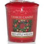 Yankee Candle Red Apple Wreath - Věnec z červených jablíček vonná svíčka votivní 49 g