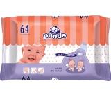 Bella Happy Baby Panda vlhčené ubrousky pro děti 64 kusů