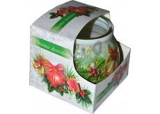 Admit Christmas Decorations aromatická svíčka ve skle 80 g