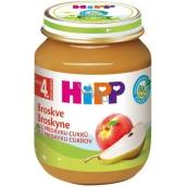 Hipp Ovoce Bio Broskve ovocný příkrm, snížený obsah laktózy a bez přidaného cukru pro děti 125 g