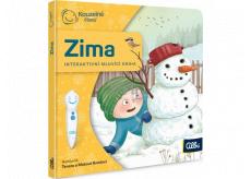 Albi Kouzelné čtení Minikniha Zima pro děti od 2 let