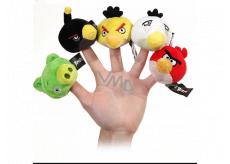 Angry Birds plyšová násadka na tužku 5 cm, více druhů