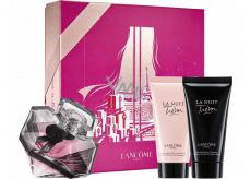 Lancome La Nuit Trésor parfémovaná voda pro ženy 50 ml + sprchový gel 50 ml + tělové mléko 50 ml, dárková sada