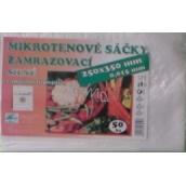 Press Mikrotenové sáčky zamrazovací silné s možností popisku 25 x 35 cm 50 kusů