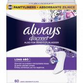 Always Discreet Liner Long inkontinenční slipové intimní vložky 60 kusů