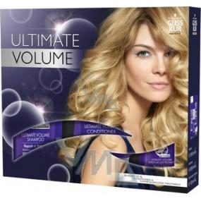Gliss Kur Ultimate Volume šampon 250 ml + balzám 200 ml + pěna 125 ml, kosmetická sada