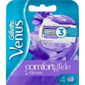 Gillette Venus Breeze 2v1 3 břity náhradní holící hlavice pro ženy 4 kusy