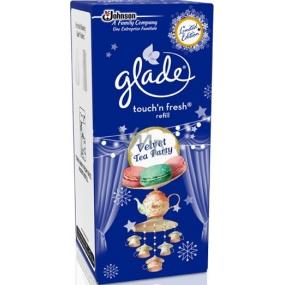 Glade by Brise Velvet Tea Party One Touch mini spray osvěžovač vzduchu náhradní náplň 10 ml