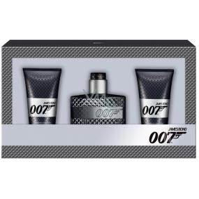 James Bond 007 toaletní voda pro muže 50 ml + 2 x sprchový gel 50 ml dárková sada