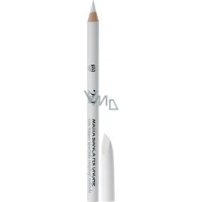 Deborah Milano 2in1 White Nail Pencil tužka na nehty Bílá 1,5 g