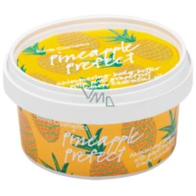 Bomb Cosmetics Perfektní ananas Třpytivé tělové máslo ručně vyrobeno 200 ml