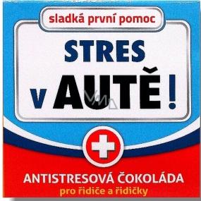 Nekupto Sladká první pomoc 2 Antistresová čokoláda Stres v autě 65 g 003