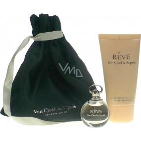 Van Cleef & Arpels Reve parfémovaná voda 4,5 ml + tělové mléko 50 ml + kosmetický pytlík, dárková sada