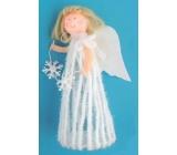 Anděl na postavení v sukni 20 cm č.3