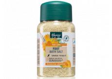Kneipp Měsíček a pomerančový olej sůl do koupele na chodidla 500 g