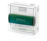 Millefiori Icon White Musk - Bílé pižmo Vůně do auta Classic zelená voní až 2 měsíce 47 g