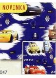 Nekupto Dárkový balicí papír 70 x 200 cm Vánoční Cars1 role BLI 047