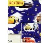Nekupto Balící papír vánoční pro děti Cars 70 x 200 cm 1 role BLI 047