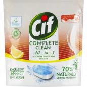 Cif All in 1 Lemon tablety do myčky nádobí 26 kusů