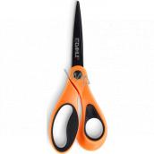 Dahle Color ID nůžky asymetrické oranžové 21 cm