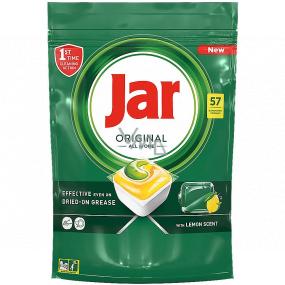 Jar Original All in One Lemon kapsle do myčky nádobí 57 kusů