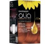 Garnier Olia barva na vlasy bez amoniaku 6.46 Intenzivní červená měděná