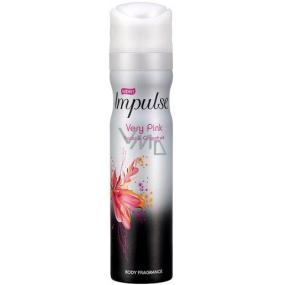 Impulse Very Pink parfémovaný deodorant sprej pro ženy 75 ml