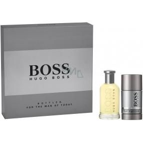 Hugo Boss Boss No.6 Bottled toaletní voda pro muže 50 ml + deodorant stick 75 ml, dárková sada