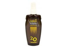 Nubian F20 vitamin E Olej na opalování 150 ml