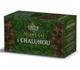 Grešík Zelený čaj s chaluhou nálevové sáčky pro redukční dietu 20x1,5 g navozuje pocit sytosti